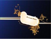 Composizione in vettore della bandiera Fotografia Stock