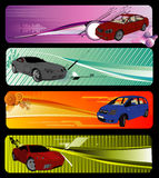 Composizione in vettore delle automobili Fotografia Stock Libera da Diritti