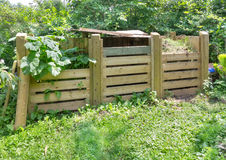 Compost bins Stock Photography