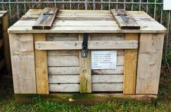 Compost Box Royalty Free Stock Image