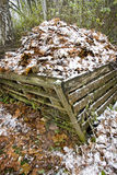 Compost heap Royalty Free Stock Photo