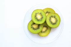 Compost of kiwi fruit Stock Image