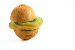 Compost of kiwi fruit Stock Photos