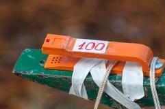 Orienteering. Compost for orienteering. Navigation equipment. Compost for orienteering. Navigation equipment. The concept Orienteering royalty free stock photography