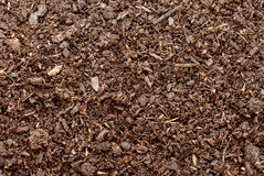 Compost, soil or dirt background Stock Photos