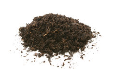 Compost, soil or dirt Royalty Free Stock Photography