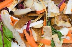 Compost vegetables peelings royalty free stock photos