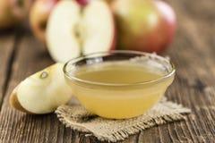 Composta di mele fatta fresca Fotografia Stock Libera da Diritti