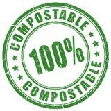 Composteerbare vectorzegel Stock Fotografie