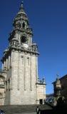 Compostela belfry Royalty Free Stock Photo