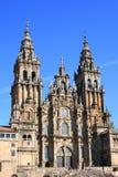 compostela de Σαντιάγο καθεδρικών ν&alp στοκ φωτογραφίες