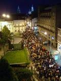 compostela de Σαντιάγο στοκ εικόνες