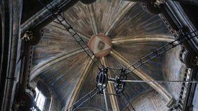 compostela de santiago собора Стоковое фото RF