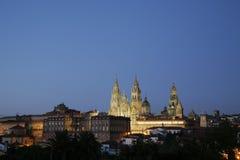 compostela de Santiago Espagne Photographie stock libre de droits