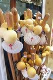 Compostela sticks Stock Image
