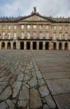compostella de palacio rajoy圣地亚哥 库存图片