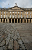 compostella de palacio rajoy Σαντιάγο Στοκ Εικόνα