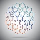 Composti ternari sotto forma di sfera Fotografia Stock
