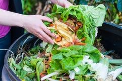 Composting Arkivfoton