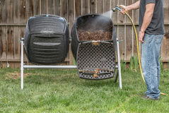 Composting för trädgård Royaltyfria Foton