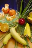 Compostions da fruta e verdura fotografia de stock