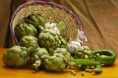 Compostions della verdura e della frutta Immagine Stock