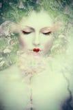Composto da mulher da fantasia fotografia de stock royalty free