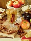 Compota picante da maçã Fotos de Stock
