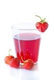 Compote de baie avec des fraises   Photographie stock