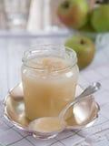 Compote de pommes faite maison Images libres de droits