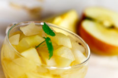 Compote des fruits et des épices secs images libres de droits
