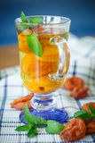 Compote with dried apricots Royalty Free Stock Image