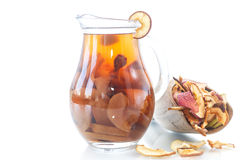 Compote of dried fruits Stock Photography