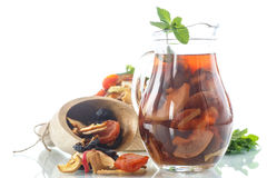 Compote Of Dried Fruits Stock Photos