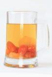 Compote in het glas. Stock Fotografie
