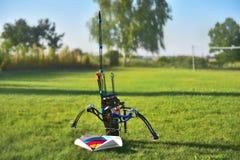 Compound bow stock photo
