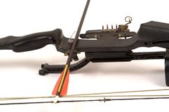 Compound Bow and Arrow royalty free stock photography