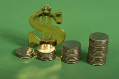 Compound interest Stock Photo
