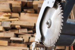 Compound Mitre Saw Stock Image