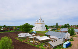 Compound Savior-Yakovlev monastery and Church of the Savior on the Sands. Rostov, Russia Stock Images