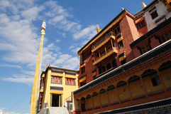 Compound of Thiksey monastery in Leh,  India Stock Photography