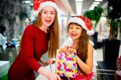 Compra da matriz e da filha Imagem de Stock Royalty Free