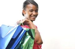 Compra da mulher Imagens de Stock