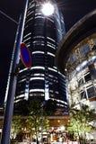 Compra da rua da construção de Roppongi Hills Imagens de Stock Royalty Free