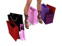 Compra das mulheres Foto de Stock