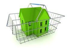 Compra de un concepto de la casa Foto de archivo libre de regalías