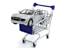 Compra de un nuevo coche Imagenes de archivo