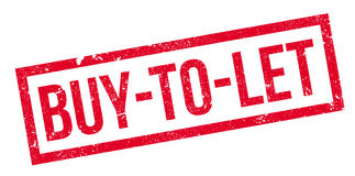 Compra-A-deje el sello de goma Imágenes de archivo libres de regalías