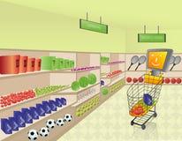 Compra do comércio electrónico Imagens de Stock
