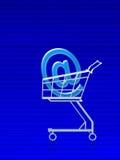 Compra do email address ilustração royalty free